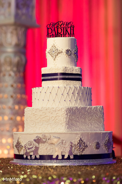 Indian wedding cake in Dallas, TX Indian Wedding by MnMfoto
