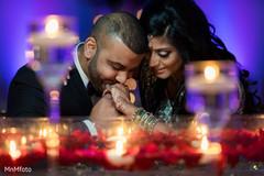 Indian wedding reception photo