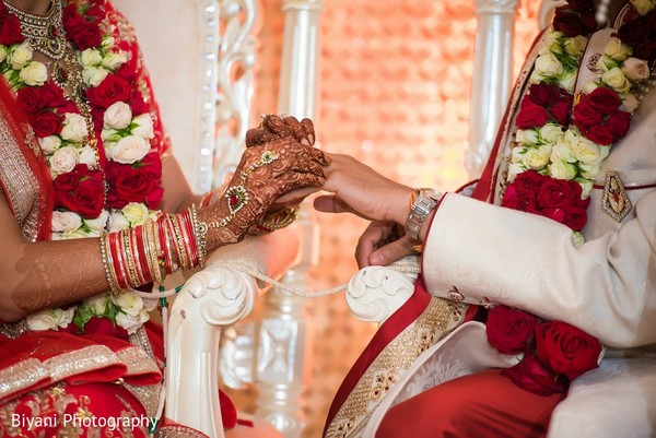 Ceremony in Montgomery, TX  Indian Wedding by Biyani Photography