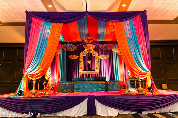 Pre-Wedding Decor in Parsippany, NJ Indian Wedding by KSD Weddings
