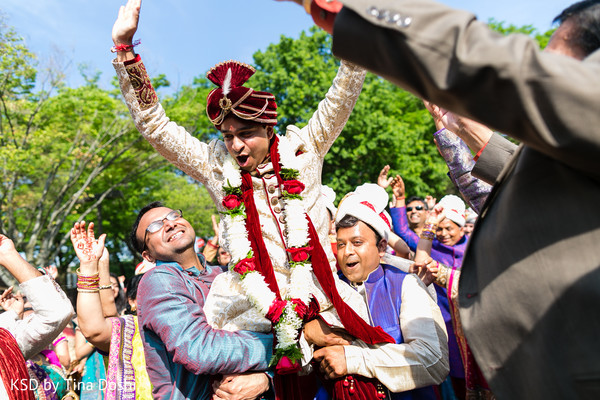 Baraat in Parsippany, NJ Indian Wedding by KSD Weddings