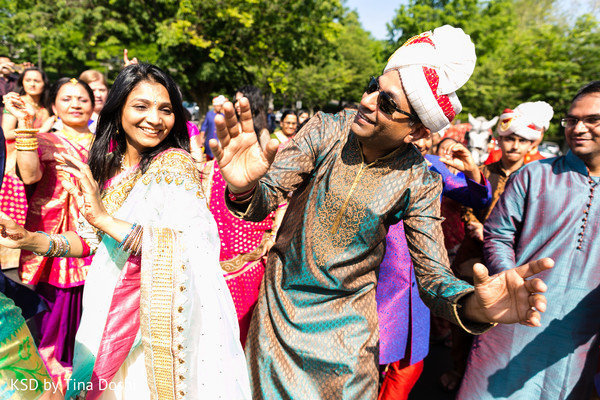 Baraat in Parsippany, NJ Indian Wedding by KSD Weddings