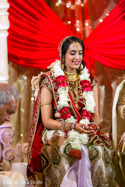 Ceremony in Parsippany, NJ Indian Wedding by KSD Weddings