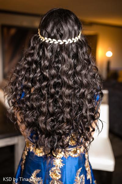 Hair in Parsippany, NJ Indian Wedding by KSD Weddings