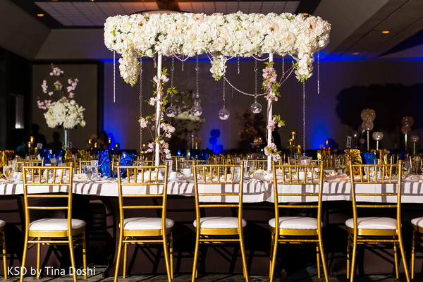 reception decor,indian wedding reception,floral and decor,centerpieces