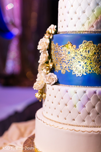Wedding Cake in Parsippany, NJ Indian Wedding by KSD Weddings