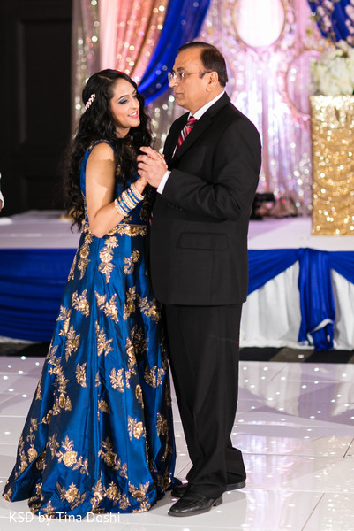 Reception in Parsippany, NJ Indian Wedding by KSD Weddings