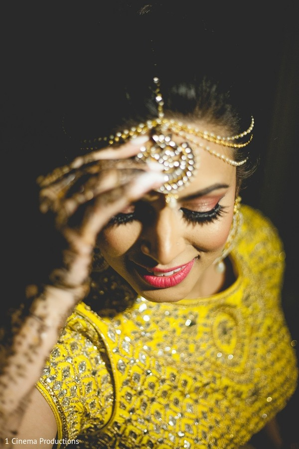 Hair & Makeup in Dallas, TX Indian Wedding by 1 Cinema Productions
