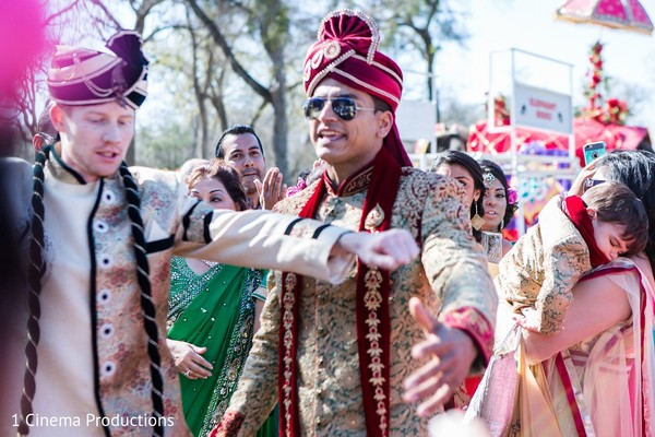 Baraat in Dallas, TX Indian Wedding by 1 Cinema Productions
