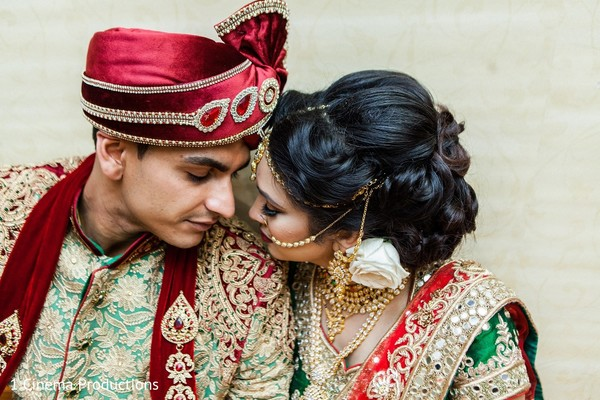 Wedding Portrait in Dallas, TX Indian Wedding by 1 Cinema Productions