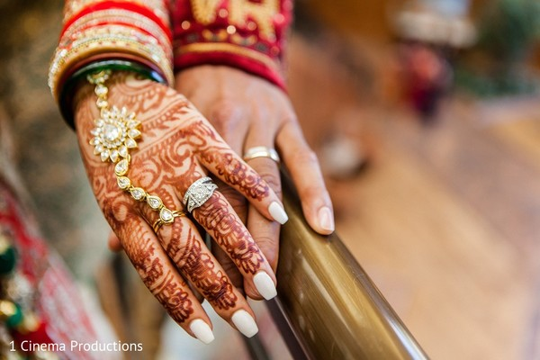 Bridal Jewelry & Mehndi in Dallas, TX Indian Wedding by 1 Cinema Productions