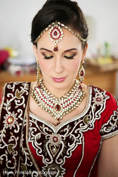 Hair & Makeup in St. Croix, USVI  Indian Fusion Destination Wedding by Henk Prinsloo Photography