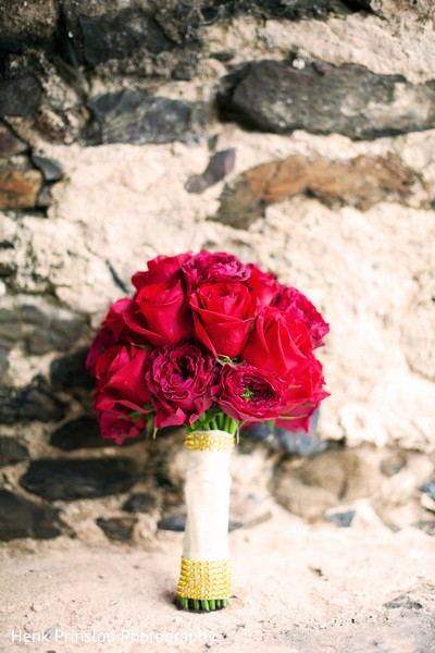Bridal Bouquet in St. Croix, USVI  Indian Fusion Destination Wedding by Henk Prinsloo Photography