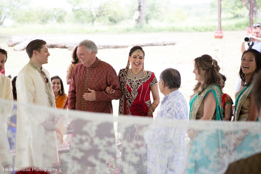 Ceremony in St. Croix, USVI  Indian Fusion Destination Wedding by Henk Prinsloo Photography