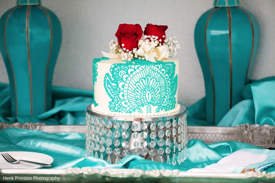 Wedding Cake in St. Croix, USVI  Indian Fusion Destination Wedding by Henk Prinsloo Photography
