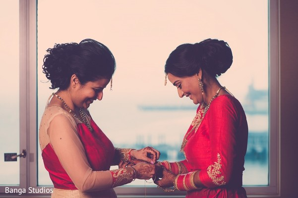 Getting Ready in Jersey City, NJ Sikh Wedding by Banga Studios