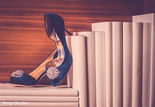 Shoes in Jersey City, NJ Sikh Wedding by Banga Studios