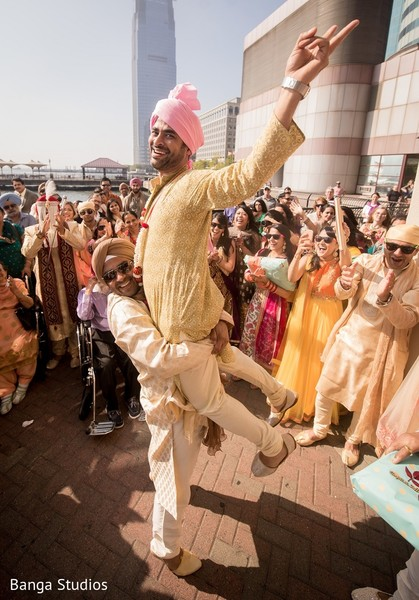 Milni in Jersey City, NJ Sikh Wedding by Banga Studios