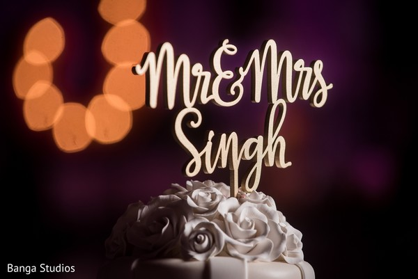 Cake Topper in Jersey City, NJ Sikh Wedding by Banga Studios