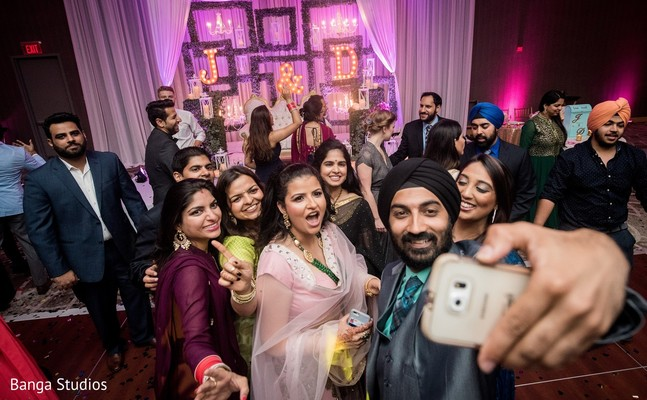 Reception in Jersey City, NJ Sikh Wedding by Banga Studios