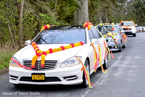 Baraat in Woodland Park, NJ Indian Wedding by House of Talent Studios