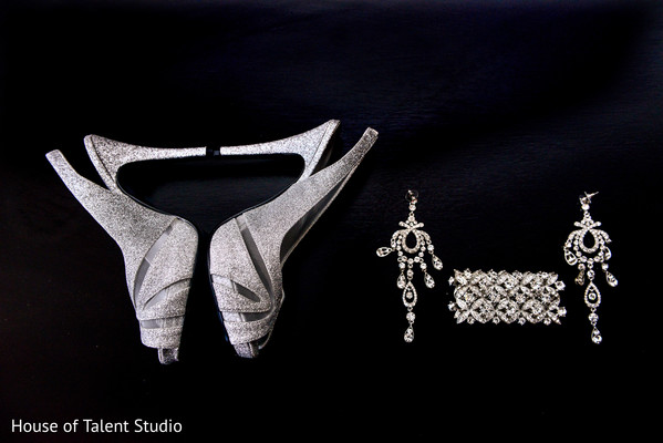 Bridal accessories in Woodland Park, NJ Indian Wedding by House of Talent Studios