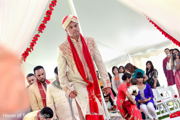 Indian wedding ceremony in Woodland Park, NJ Indian Wedding by House of Talent Studios