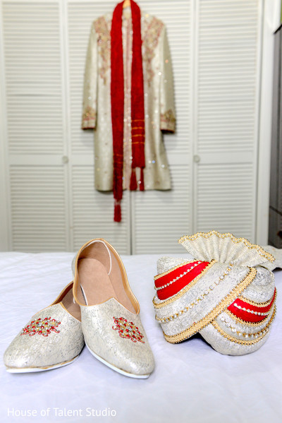 Indian groom fashion in Woodland Park, NJ Indian Wedding by House of Talent Studios