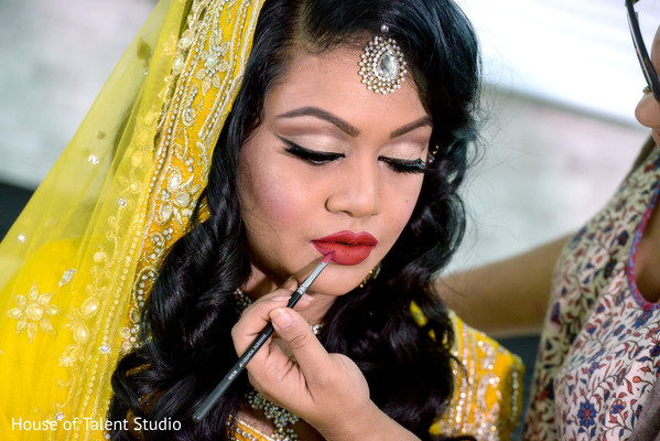 pre-wedding hair and makeup