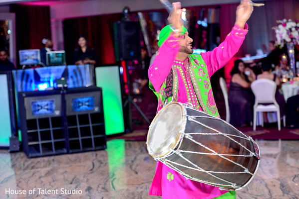 Indian wedding reception in Woodland Park, NJ Indian Wedding by House of Talent Studios
