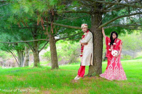 Indian wedding portraits in Woodland Park, NJ Indian Wedding by House of Talent Studios