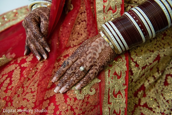 Mehndi hands in Woodbury, NY Indian Wedding by Digital Memory Studio