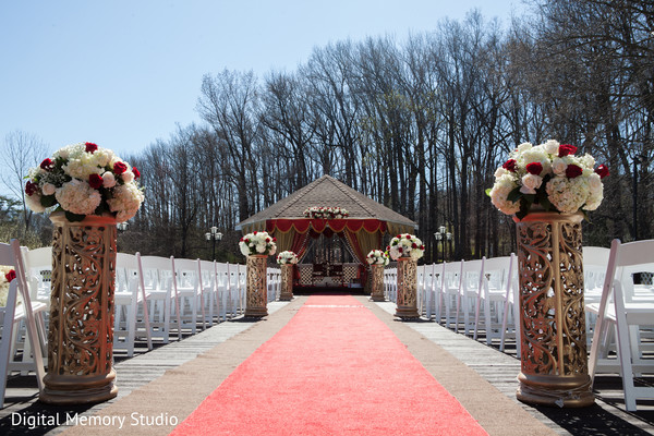 Indian wedding ceremony in Woodbury, NY Indian Wedding by Digital Memory Studio