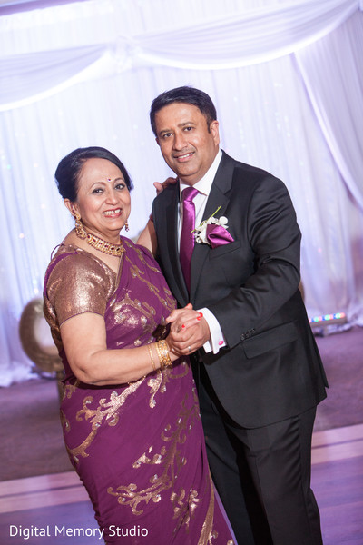 Indian wedding reception in Woodbury, NY Indian Wedding by Digital Memory Studio