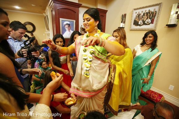 Gaye holud in Lubbock, TX Indian Wedding by Memories Films