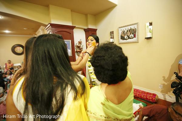 Gaye holud in Lubbock, TX Indian Wedding by Memories Films