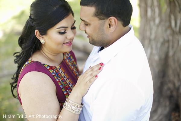 Pre wedding portrait in Lubbock, TX Indian Wedding by Memories Films
