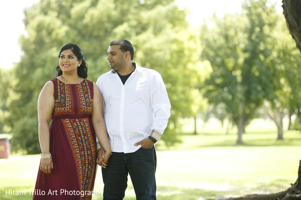 Pre wedding portrait in Lubbock, TX Indian Wedding by Memories Films