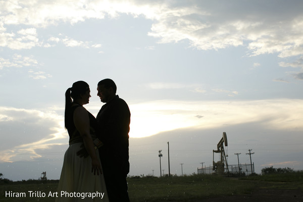 Mehndi night portraits in Lubbock, TX Indian Wedding by Memories Films