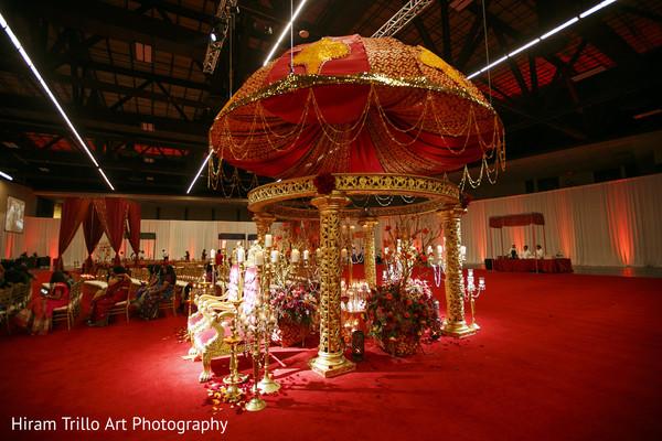 Garba night decor in Lubbock, TX Indian Wedding by Memories Films