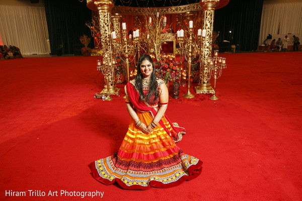 Garba night portraits in Lubbock, TX Indian Wedding by Memories Films