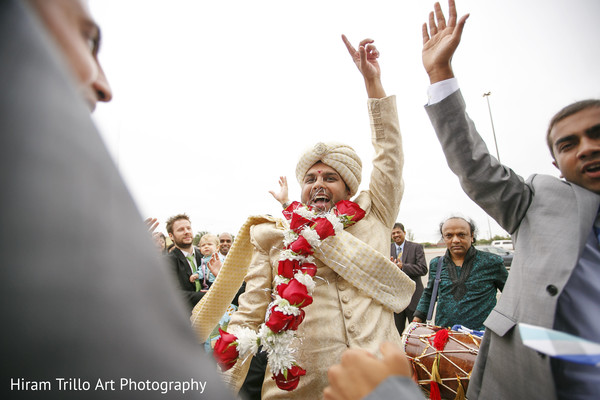 Baraat in Lubbock, TX Indian Wedding by Memories Films