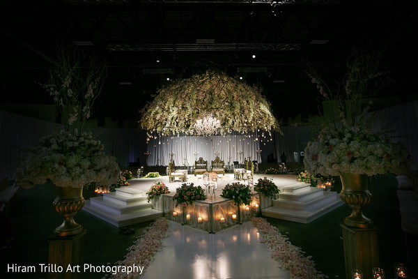 Mandap in Lubbock, TX Indian Wedding by Memories Films