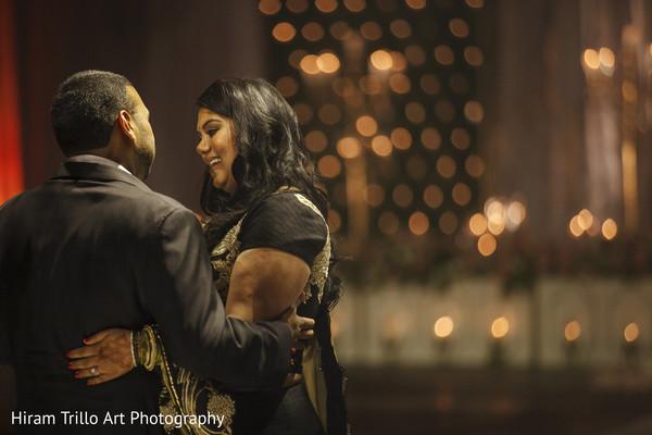 Indian wedding reception in Lubbock, TX Indian Wedding by Memories Films