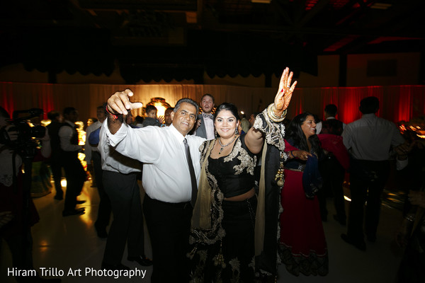Indian wedding reception in Lubbock, TX Indian Wedding by Memories Films