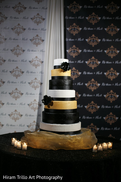 Indian wedding cake in Lubbock, TX Indian Wedding by Memories Films