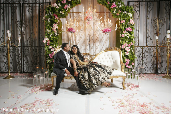 Reception portraits in Lubbock, TX Indian Wedding by Memories Films