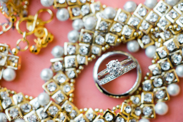 Indian bridal jewelry in Duluth, GA Indian Fusion Wedding by KVC Photography