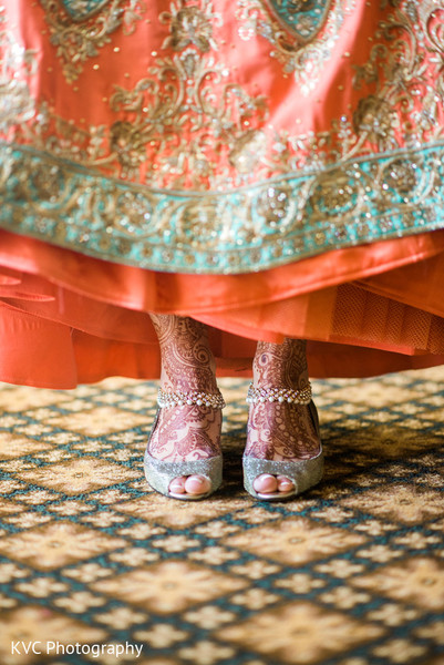 Mehndi in Duluth, GA Indian Fusion Wedding by KVC Photography