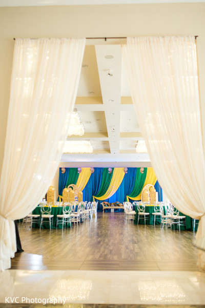 Pre wedding decor in Duluth, GA Indian Fusion Wedding by KVC Photography